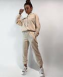 Жіночий спортивний костюм стильний в стилі oversize (Норма), фото 4