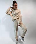 Жіночий спортивний костюм стильний в стилі oversize (Норма), фото 5