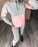 Женский костюм стильный двухцветный с лампасами (Норма), фото 6