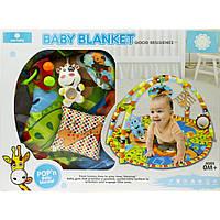 """Килимок гімнастичний """"Baby mix"""" Джунглі №B05.033.1.1"""
