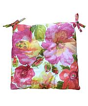 Подушка на стул Цветы шиповника