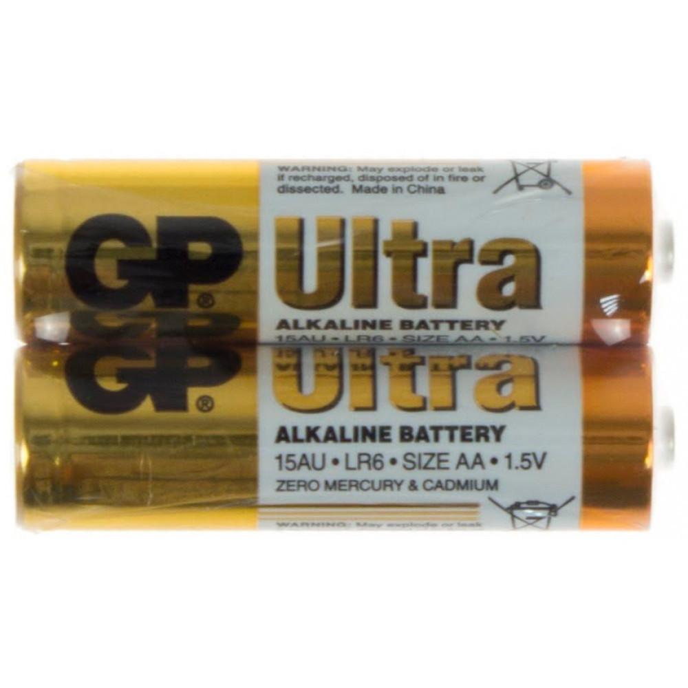 Батарейки GP Ultra 15AUPHM-2S2 LR-06/плівка 2шт