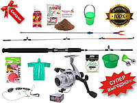 Набор рыболовный, Crocodile,Комплект рыболовный,Рыбацкий набор,Набор для рыбалки,Набор рыбака,Набор снастей!