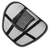 Спинка-подушка с массажером на сиденье, фото 4