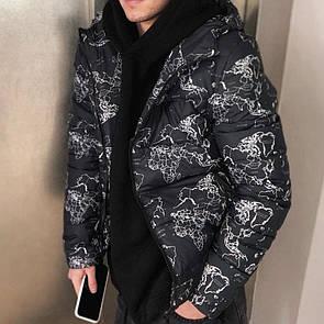 Куртка чоловіча зима, Срібло