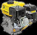 Двигатель бензиновый Садко GE-200PRO  (6,5 л.с., ручной стартер, шпонка Ø19мм, L=58мм), фото 2