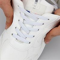 Еластичні ледачі шнурки KIWI 100 см білі