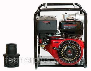 Мотопомпа бензиновая WEIMA WMQGZ100-30 (120 м.куб/час, 16л.с. 100 мм патрубок) + доставка