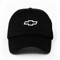Спортивная кепка Chevrolet, Шевроле, тракер, летняя кепка, мужская, женская, черного цвета, копия