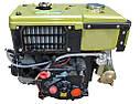 Дизельный двигатель R180NDL-GZ (8,0 л.с., дизель, электростартер), фото 3