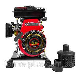 Мотопомпа бензиновая WEIMA WMQGZ 40-20(27 м.куб/час, 40 мм патрубок) Бесплатная доставка