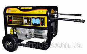 Генератор бензиновый Forte FG6500Е (5,0 кВт, электростартер) Бесплатная доставка