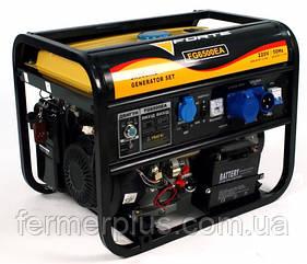 Генератор бензиновый Forte FG6500ЕA (5,0 кВт, электростартер, ATS) Бесплатная доставка