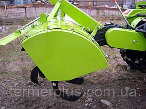 Почвофреза 100 DW150RX  с дополнительным редуктором и навесным механизмом для ДТЗ 180