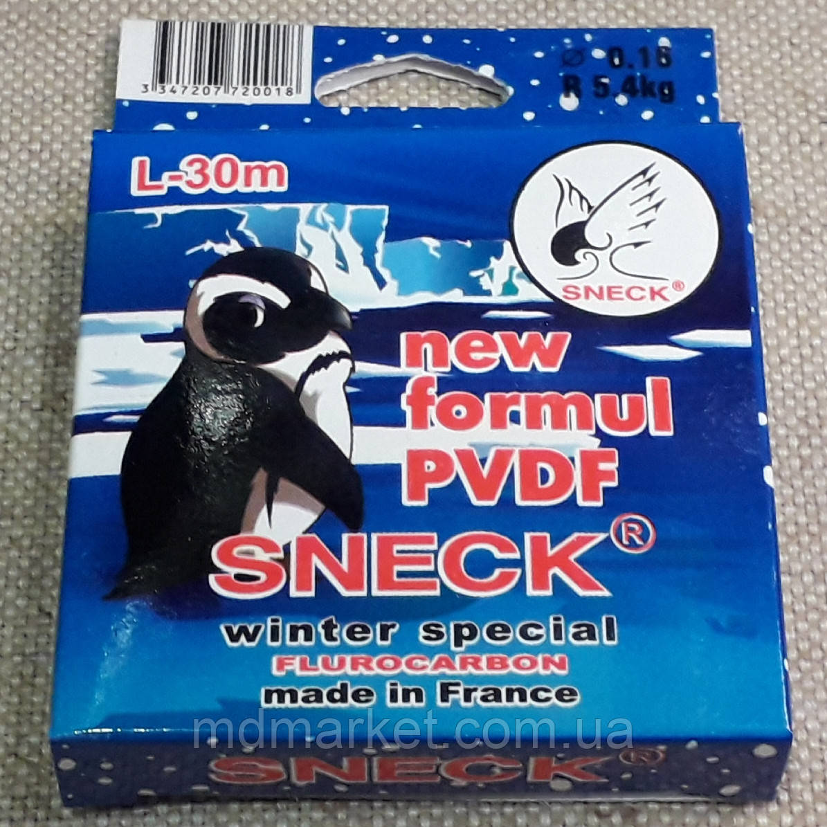 Леска флюорокарбон SNECK 30м 0.12mm