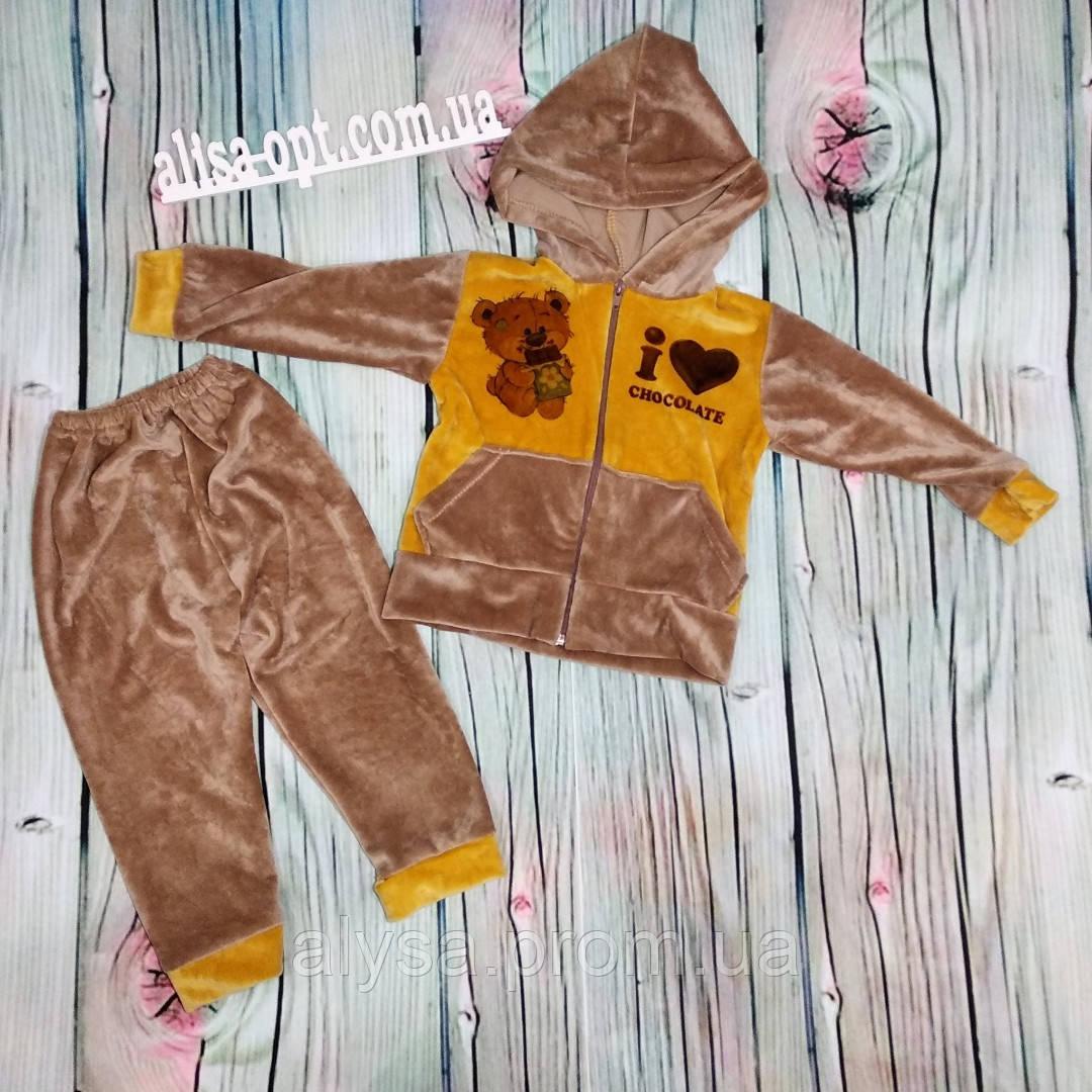 Детский костюм Шоколад № 29 плюш велюр