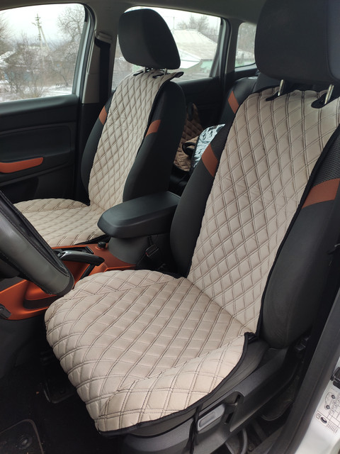 Шикарные накидки из ЭкоЗамши Премиум Опель Кадет Е (Opel Kadett E)