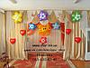 Оформление выпускного в детском саду воздушными шарами. Николаев