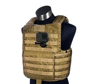 Крепление для экшн-камер на жилет, рюкзак