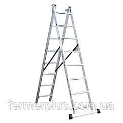 Лестница универсальная Кентавр 3х7м (Бесплатная доставка)