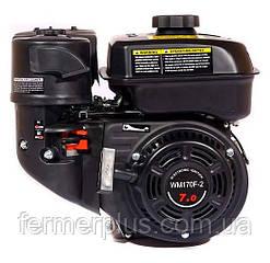 Двигатель бензиновый WEIMA  WM170F-L NEW  (7.0 л.с, шпонка Ø20мм, L=52мм, редукт)