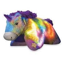 Ночник Единорог 3 в 1. Игрушка подушка ночник Glow Pets оригинал из США