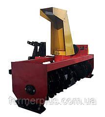 Снегоуборщик шнековый для мототрактора ТМ Володар  (захват 120 см, привод слева)