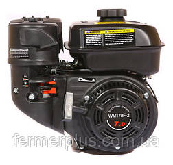 Двигатель бензиновый WEIMA  WM170F-1050 NEW (7.0 л.с, шпонка Ø15мм, L=60mm, редуктор по часовой)