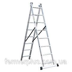 Лестница универсальная Кентавр 3х9м (Бесплатная доставка)