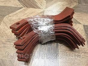 Нож для почвофрезы R175 / 180N / 190N / 195NM (правый левый) - 18шт( комплект) мотоблоков