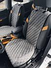 Шикарные накидки из ЭкоЗамши Премиум Форд Фиеста МК4 (Ford Fiesta MK4), фото 4