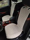 Шикарные накидки из ЭкоЗамши Премиум Форд Фиеста МК4 (Ford Fiesta MK4), фото 6