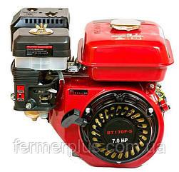 Двигатель бензиновый WEIMA BT170F-S CL (7,0 л.с., шпонка Ø20мм, L=52мм редуктор с центробежныс сцеплением)