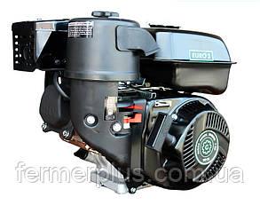 Двигатель бензиновый Grünwelt GW210-S CL (7,0 л.с., шпонка Ø20мм, 1/2 редуктор с центробежным сцеплением)
