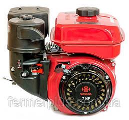 Двигатель бензиновый WEIMA  WM170F-3 NEW  (7.0 л.с, шпонка Ø20мм, L=52мм,редуктор)
