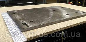 Переходная плита для установки двигателя воздушного охлаждения на тяжелый мотоблок