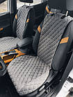 Шикарные накидки из ЭкоЗамши Премиум Шевроле Авео Т300 (Chevrolet Aveo T300), фото 4
