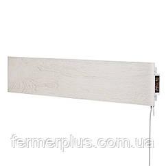 Керамічний теплий плінтус c програматором Flyme 420PW біле дерево