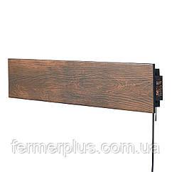 Керамічний теплий плінтус c програматором Flyme 420PB коричневе дерево