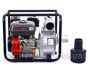 Мотопомпа бензиновая BULAT  BW80/30 (60 м.куб/час, патрубок 80 мм) Бесплатная доставка
