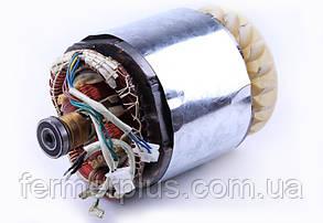Статор в сборе с ротором 5KW однофазный (медь) - GN 5-6 KW