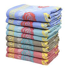 Рушник банний для тіла Котики, льон 70х140см
