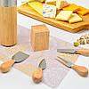 Набор ножей для сыра с подставкой Dynasty 14 х 6 см, фото 2