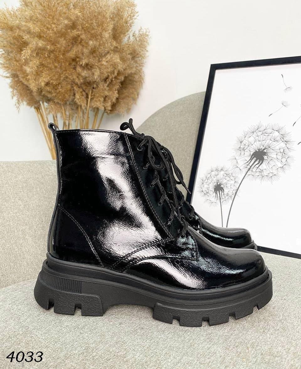 Жіночі замшеві демісезонні черевики на підборах 36-40 р чорний