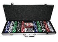 Гра Покер професійний покерний набір 500 жетонів у валізі Poker Игра 500 жетонов без номіналу