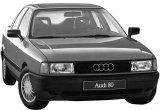 Дефлектор капота Audi 80 B3 (1986 - 1991) Audi 80 B4 (1991 - 1996)