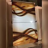 6-010 Стіл розкладний зі скла і 6 стільців, фото 6