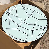 6-027 Стіл розкладний зі скла і 4 стільці, фото 2