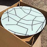 6-027 Стіл розкладний зі скла і 4 стільці, фото 3