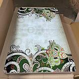 6-035 Стіл розкладний зі скла і 6 стільців, фото 5